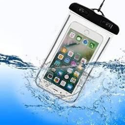 Case a prova d'água universal celular