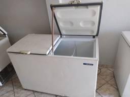 Freezer Horizontal/ Vertical e Forno a gás de Pedra