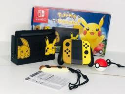 Nitendo Switch edição pikachu