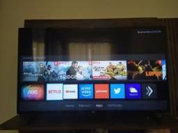 TV smart 43 polegadas tela LED