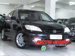 Honda Civic LX 1.7 Automático C/Couro!