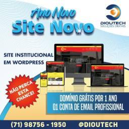 Faça seu site agora