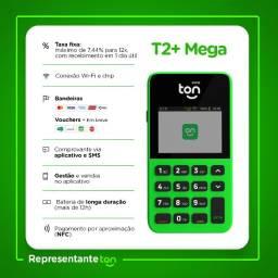 Maquininha de Cartão | T2+ Mega
