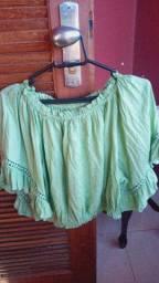 Blusa Verde Cigana - Taco