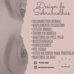 Curso Design de Sobrancelhas - Modelos feitas pelas alunas!