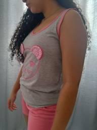 Conjunto Pijama Gato M