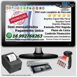 Frente de Caixa, Software PDV, Controle Estoque, Financeiro, Despesas - Ponta Grossa