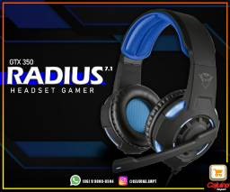 Headset Gamer Trust GXT 350 Radius 7.1 m21sd1sd21