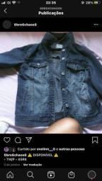 Jaqueta azul nova