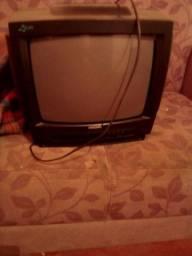 tv de tubo  usada.