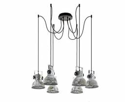 Luminária Pendente - Desing Industrial