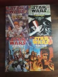 Mangás Star Wars - O império contra ataca