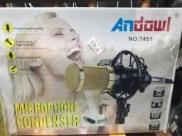 Microfone condensador - Para sair logo !