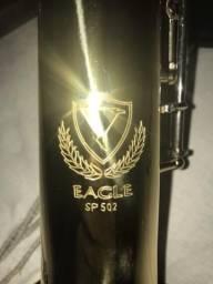 Sax Soprano Eagle SP 502 em 10x cartão