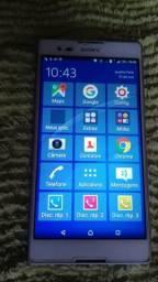 Sony xperia t2 modelo d5322 original tela 6 polegadas 13 mega pixel de câmera