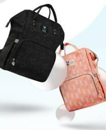 Bolsa Mochila Maternidade Disney Original + Capa Térmica USB - Pronta entrega