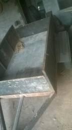 Carretinha e betoneira