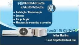 Fm climatização e eletrica