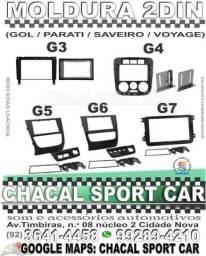 Moldura para painel de som 2din (Gol / Parati / Saveiro / Voyage) (G3 / G4 / G5 / G6 /G7)