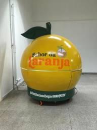 Quiosque no formato de laranja!!!