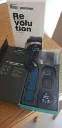 Relogio Inteligente Troco Ps3 Smartwatch Mormaii Revolution Digital Bluetooh Novo Caixa Pc