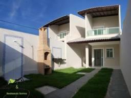 Casa Duplex 92m2 Barrocão Itaitinga por 150 mil c/ Churrasqueira e Documentação Inclusa!