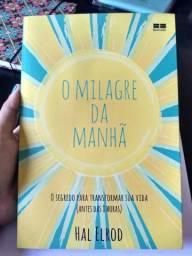 Livro - O Milagre da Manhã - Autor: Hal Elrod - Seminovo