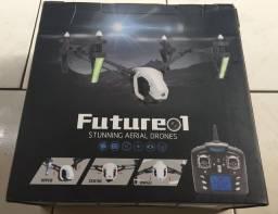 Drone Future 1 c/ tela Fpv - novo