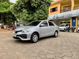 Etios X Sedan 1.5 Flex câmbio automático ano 2018