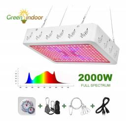 Led Grow 2000w Plantas Cultivo Indoor Fullspec Uv Ir 2020