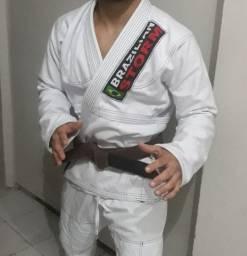 Kimono Brazilian Storm jiu-jitsu(novo) Trançado grosso
