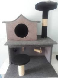 Casa arranhador para gatos