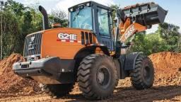 Pá Carregadeira Case 621E Peso Operacional 12.004 kg 2020