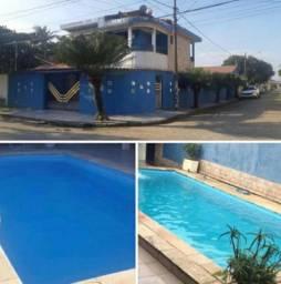 Casa com piscina em Itanhaém, 80 metros praia !