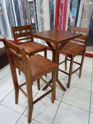 Bistro Boemia com 3 cadeiras Promoção