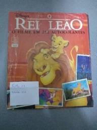 Álbum de figurinhas Rei leão