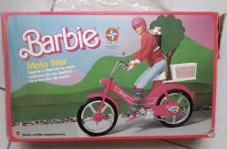 MotoStar Barbie rosa anos 90 original na caixa