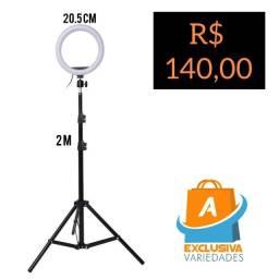 Ring Light Com Pedestal + Entrega Grátis