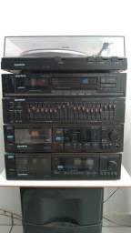 Som GRADIENTE spect 90 modulado antigo/vintage