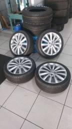 Vendo rodas 17 VW Gol G6
