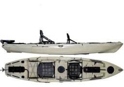 Caiaque Caiman 135 Duplo- Hidro 2 - Cor Areia (Novo)