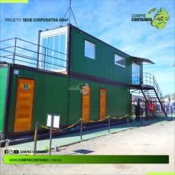 Escritórios em Container - Alto Padrão de Acabamento