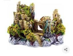Castelo Medieval para Aquário