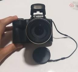 Câmera profissional Canon SX510 HS wifi- novíssima, sem marcas de uso