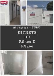 Kitnets 300,00