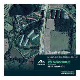 EF) JB16057 - Terreno rural com 15.30há na cidade de Lavras em LEILÃO