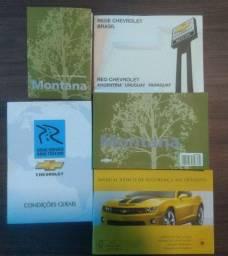 Manual do Proprietário Montana ano 2009/2010
