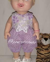 Roupinhas de bonecas baby alive e similares
