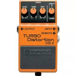 Pedal Boss DS2 Turbo Distortion Distorção