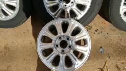 Jogo de rodas com pneus aro 15 Vectra CD